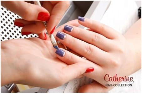 Курсы наращивания ногтей и маникюра «Catherine»