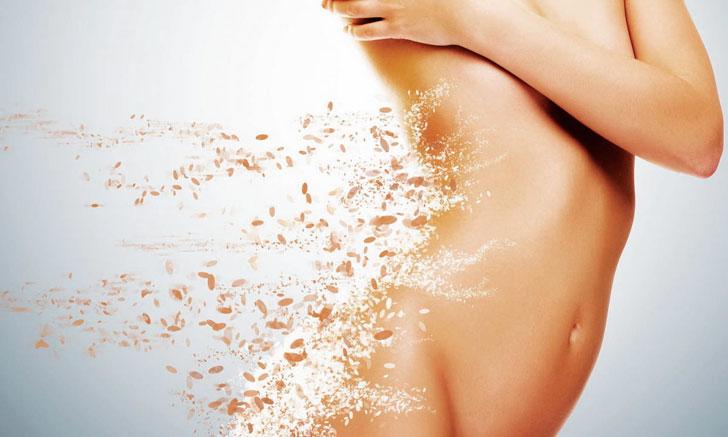Шелковая кожа благодаря пилингу тела – доступная spa процедура