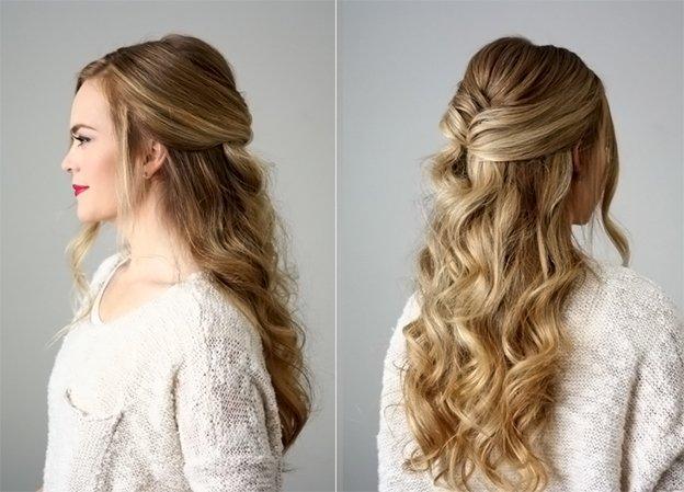 Прическа на Новый год для длинных волос: 5 модных вариантов на любой вкус